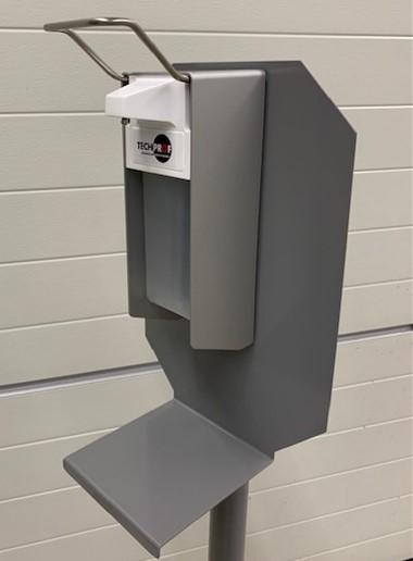 Dispencer op hygienezuil